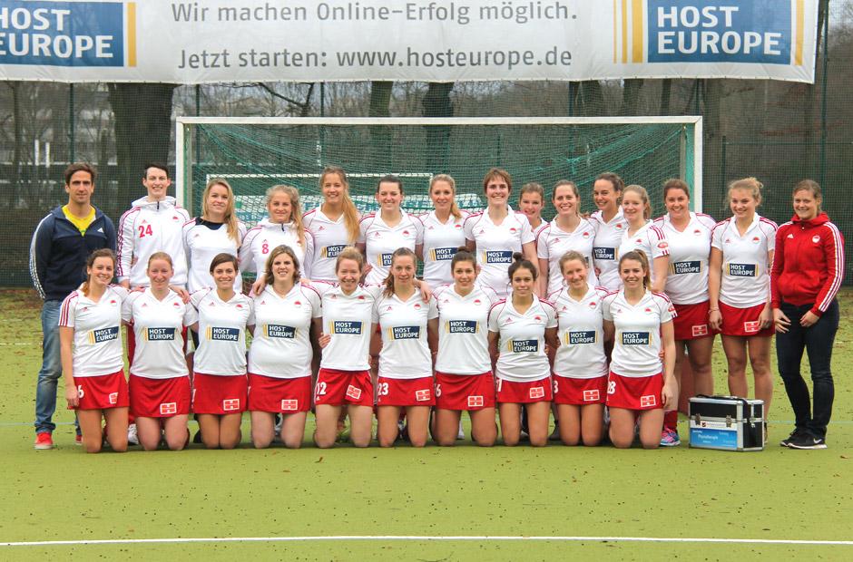Die 1.Damen (Hockey) - Deutscher Feldhockeymeister 2013/2014 und Vizemeister 2014/2015