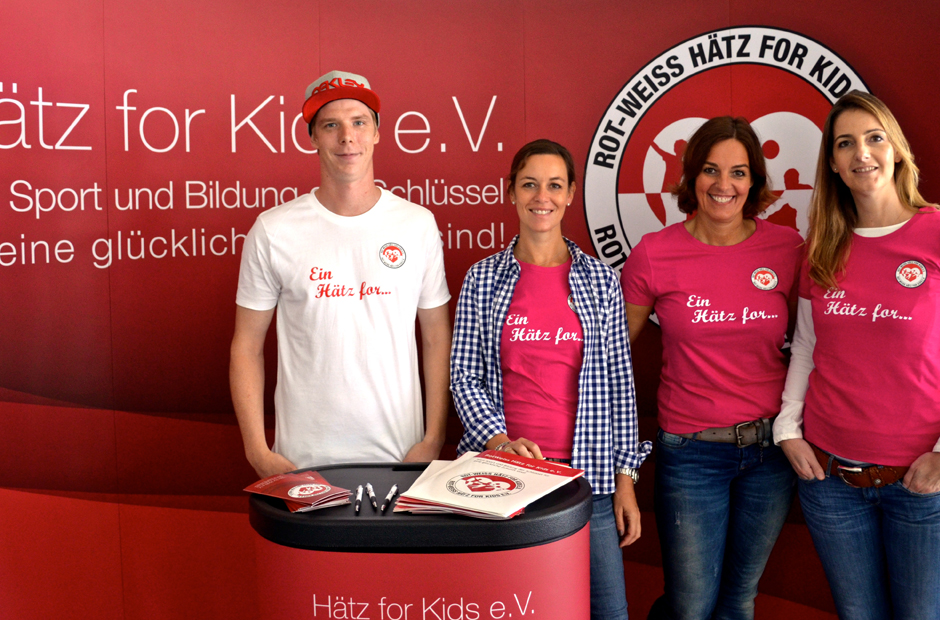 "Sportshop99 ist Charity-Partner für ""Hätz for Kids e.V."""