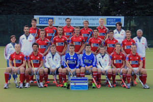 Die  1.Herren (Hockey) von Rot-Weiss-Köln - Deutscher Feldhockeymeister 2014/2015