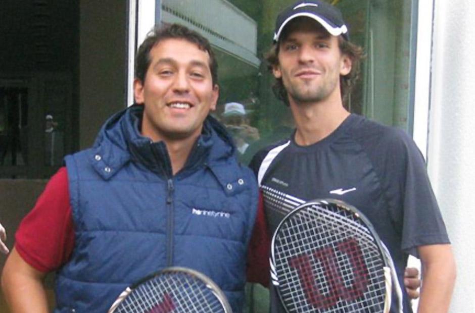 Bei uns zum Racket-Tuning - Wimbledon- und US Open-Sieger im Doppel - Philipp Petzschner